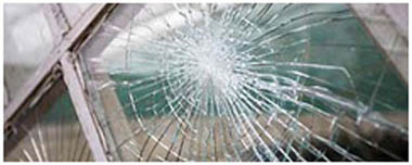 Cleveleys Smashed Glass